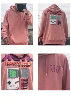 áo nỉ hoodie Nam hường cute
