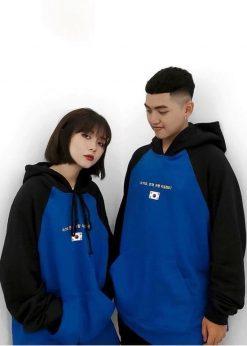 ao ni hoodie đôi