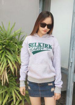 áo nỉ hoodie nữ SELKIRK