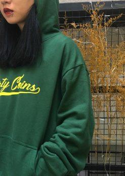 áo nỉ hoodie XANH LÁ