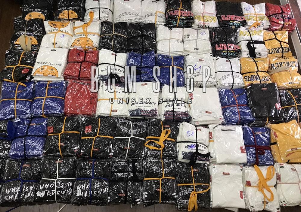 hàng về xưởng chuyên sỉ áo thun tphcm