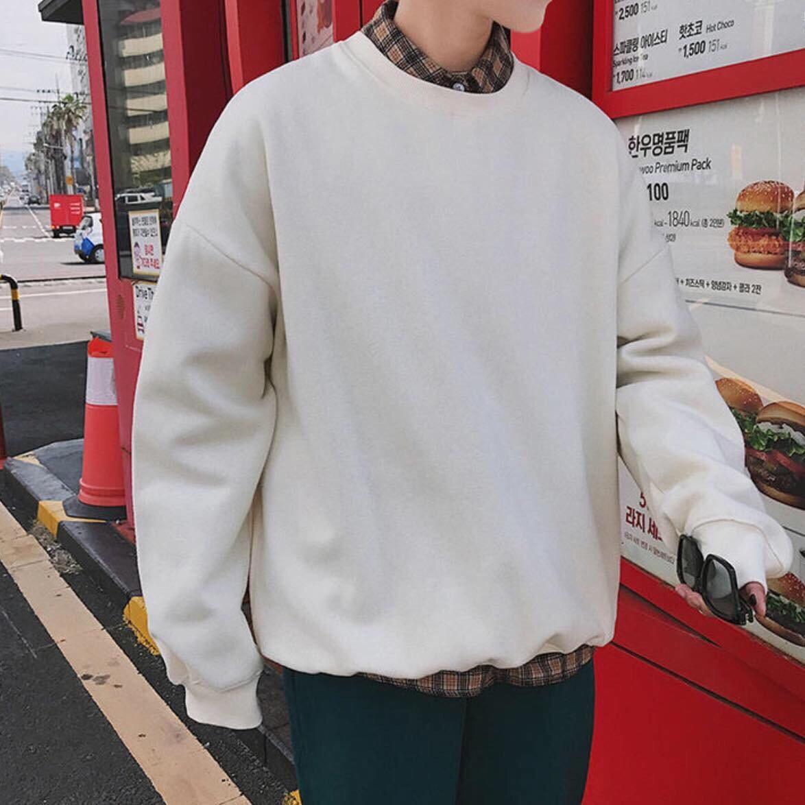 Áo hoodie, sweater trơn - Phối với sơ mi cực chất - MUA NGAY