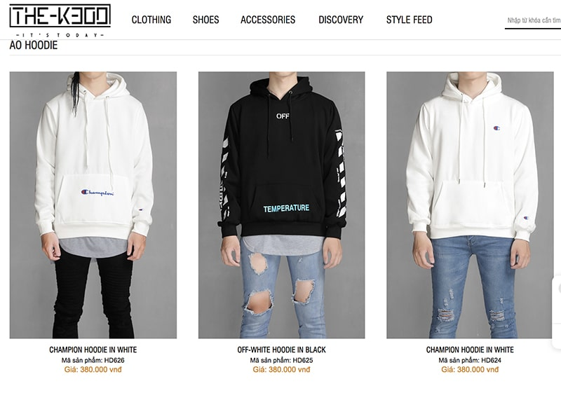 áo hoodie k300shop