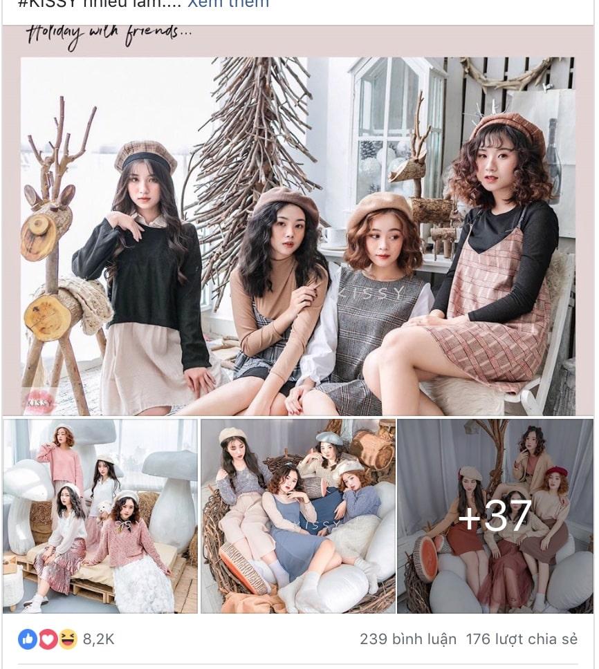 Điểm mặt chỉ tên các Shop quần áo nữ ở TPHCM nổi tiếng nhất Facebook