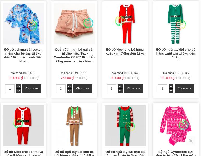 Tổng hợp các shop bán quần áo trẻ em xuất khẩu tại TPHCM