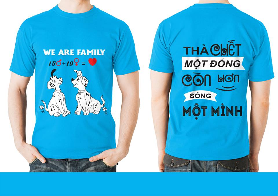 99% Lớp Bạn Sẽ Hài Lòng Vs 20 slogan áo lớp Chất Như Nước Cất