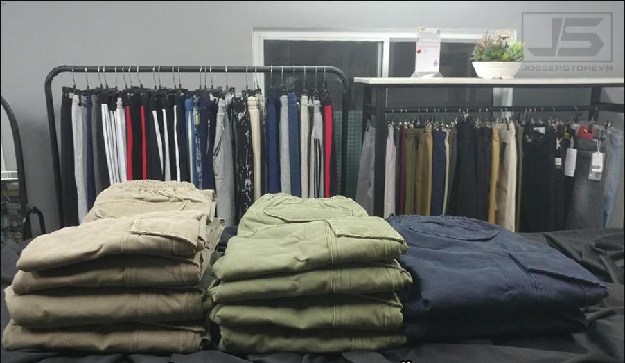 shop bán quần jogger nam nữ tphcm