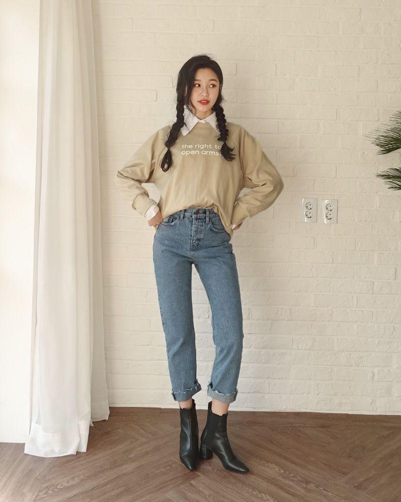 cách phối đồ với quần jean nữ đẹp