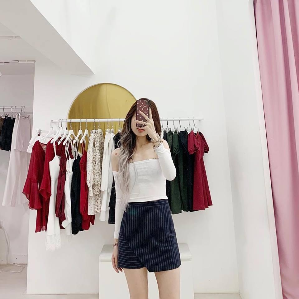 shop bán áo trễ vai xinh xắn