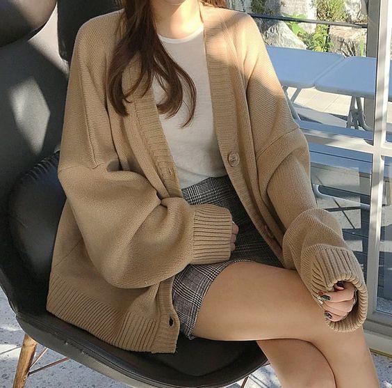 phối đồ với áo khoác nữ xinh xắn