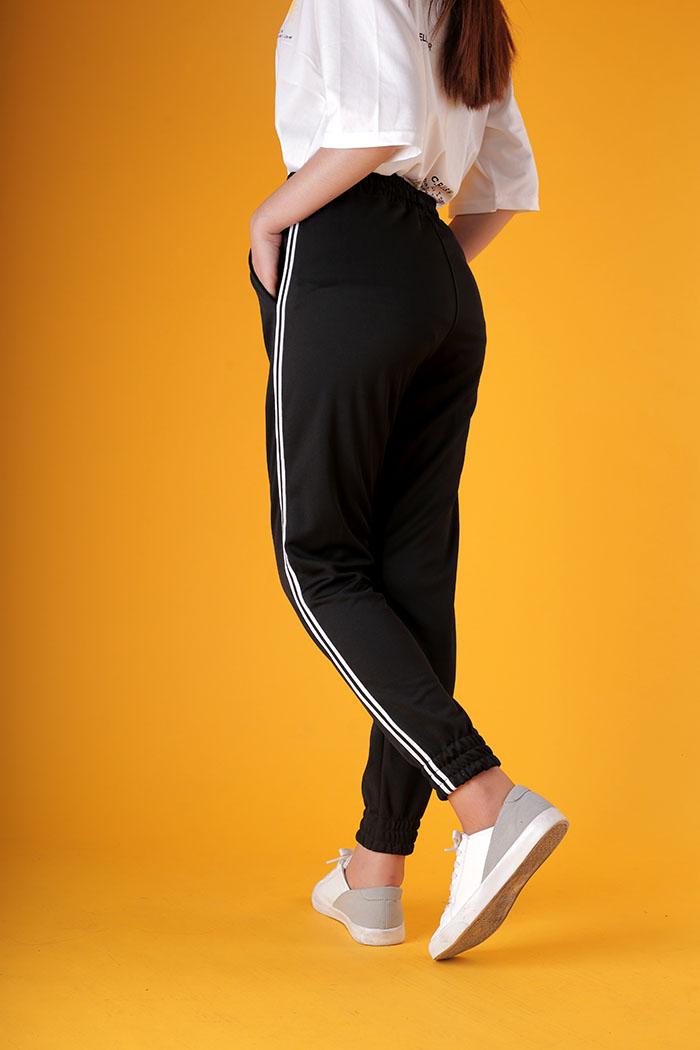 Quần jogger thun nữ - QT09