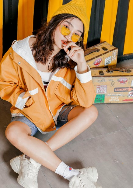 shop áo khoác nữ dễ thương