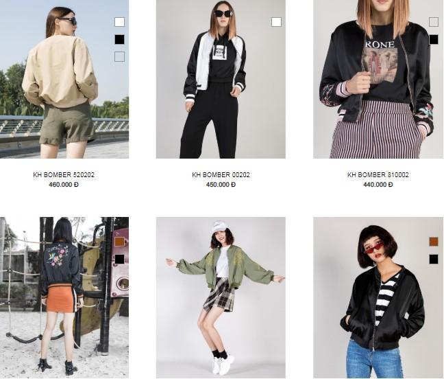 shop áo khoác nữ xinh xắn