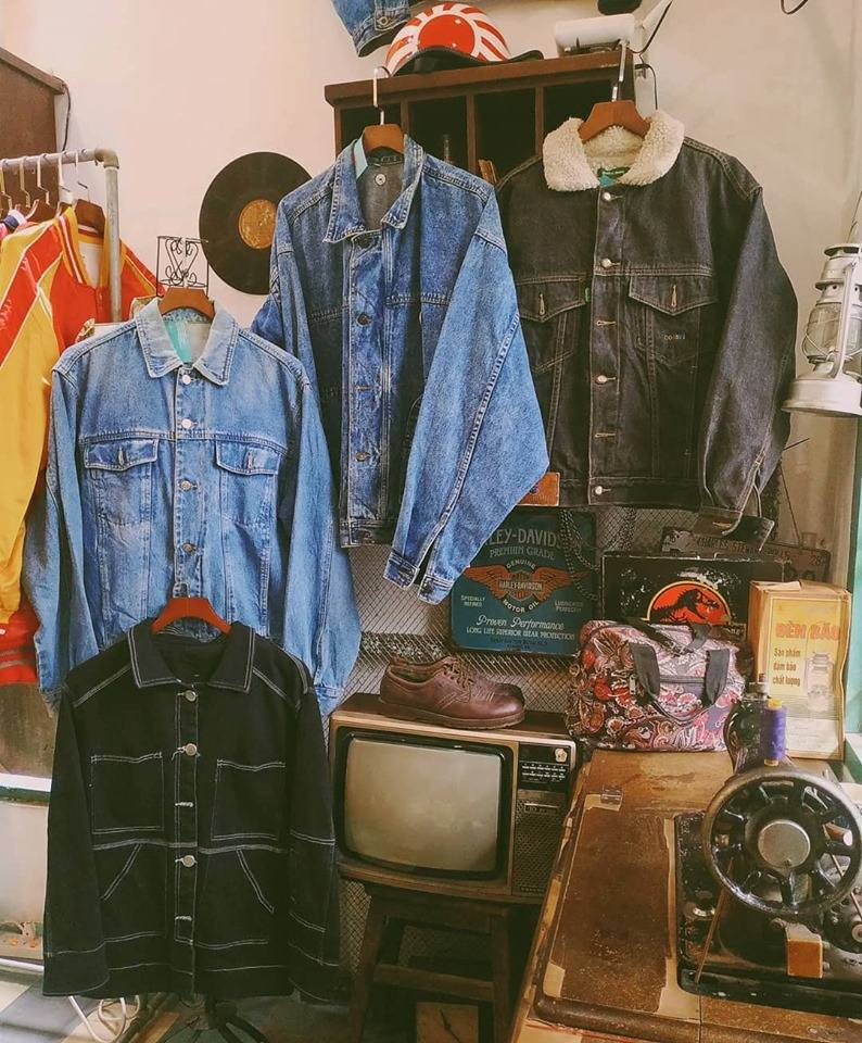 Shop Quần Áo Vintage Nữ Chất