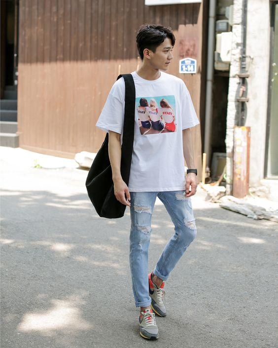 bí quyết phối đồ với quần jean nam