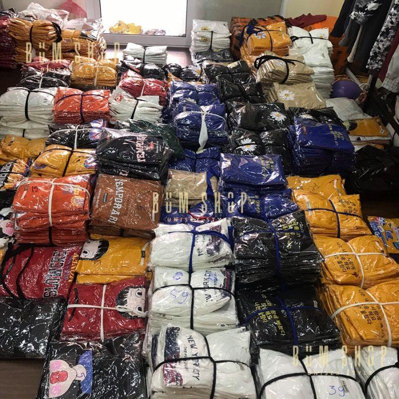 xưởng bỏ sỉ quần áo tại bình dương