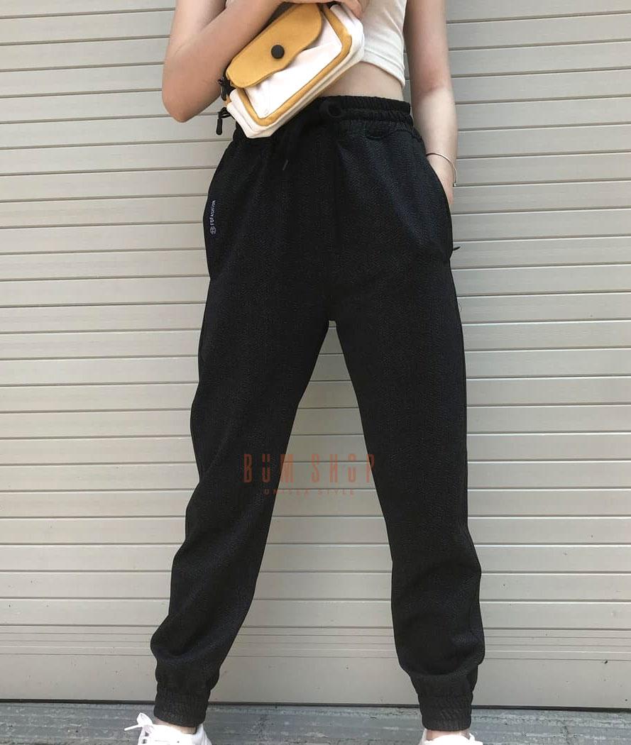 Quần jogger thun Nữ (Vải Xương Cá) - QT033