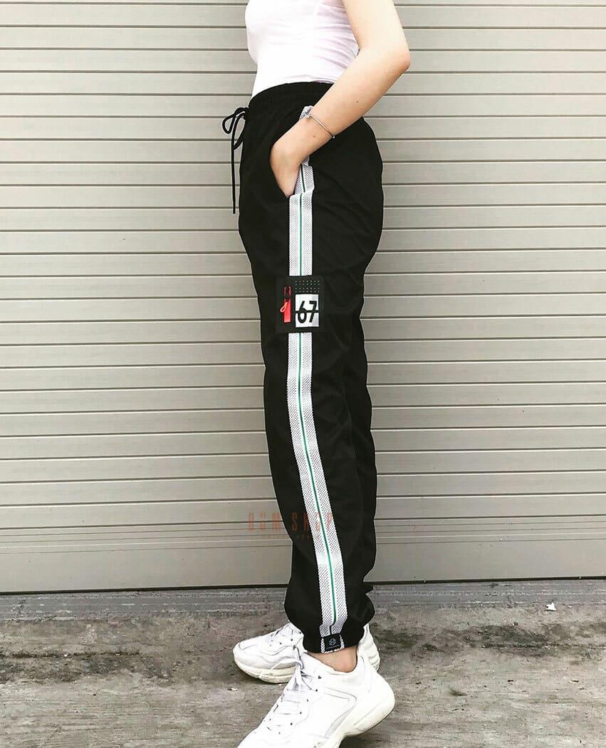 QD05 - Quần Jogger Dù Sọc Số 67
