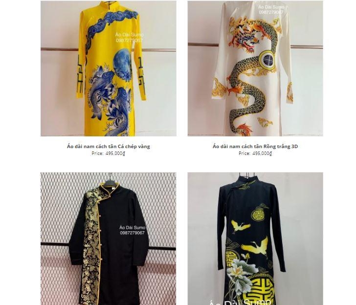shop áo dài cách tân đẹp