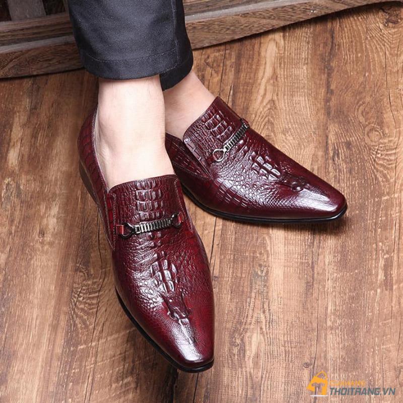 giày da cá sấu công sở