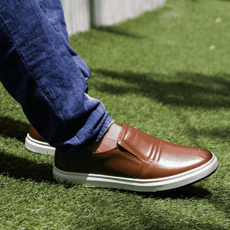 giày da kiểu dáng thể thao