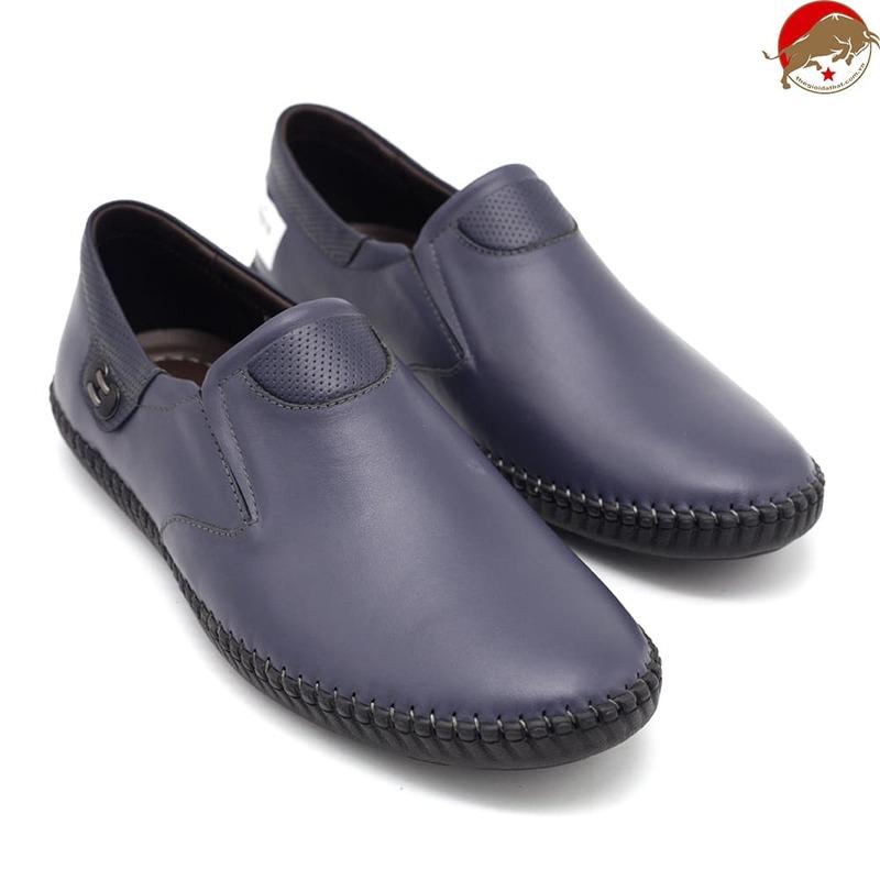 giày tây chất liệu da bò