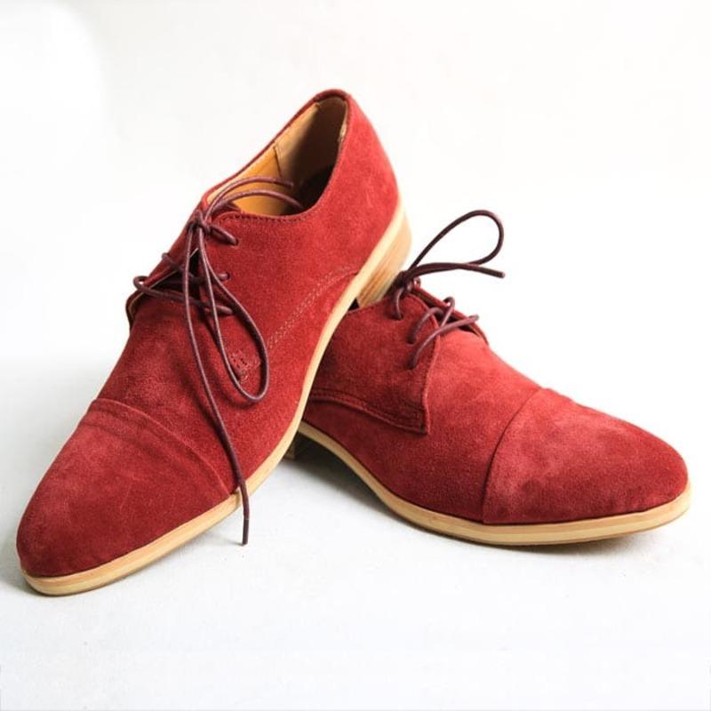 giày da lộn công sở
