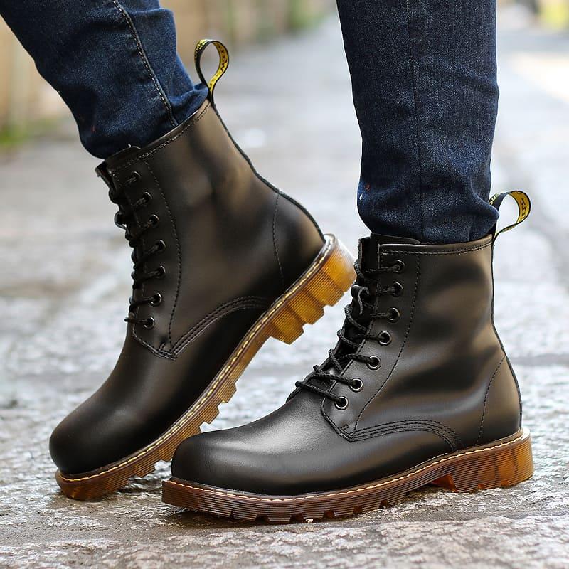 giày da cao cổ cao cấp