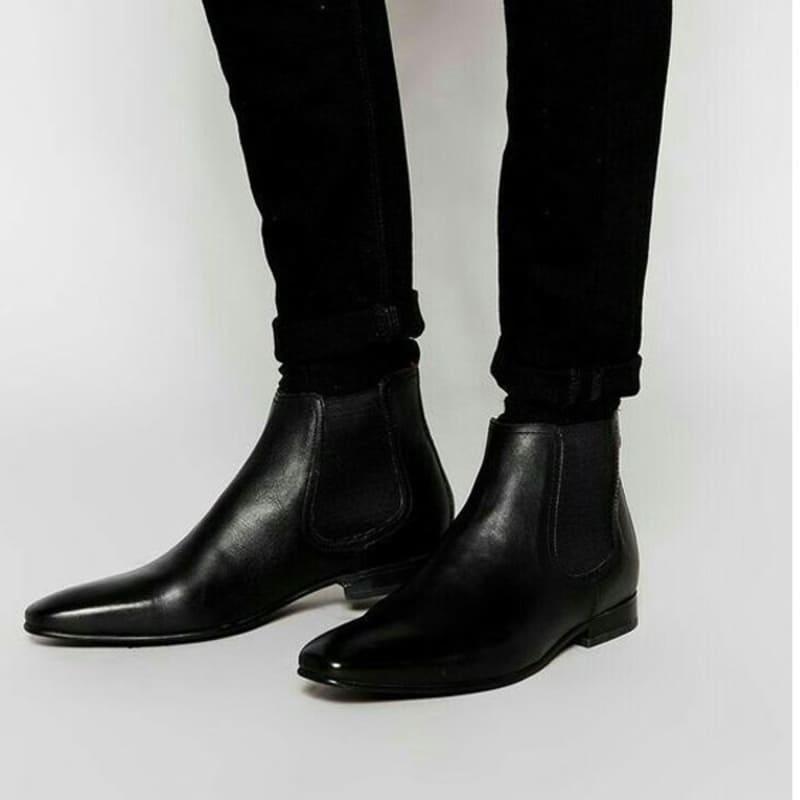 giày tây cao cổ