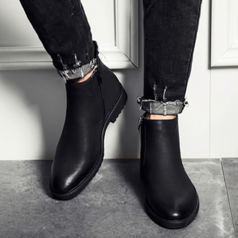 giày tây cổ cao
