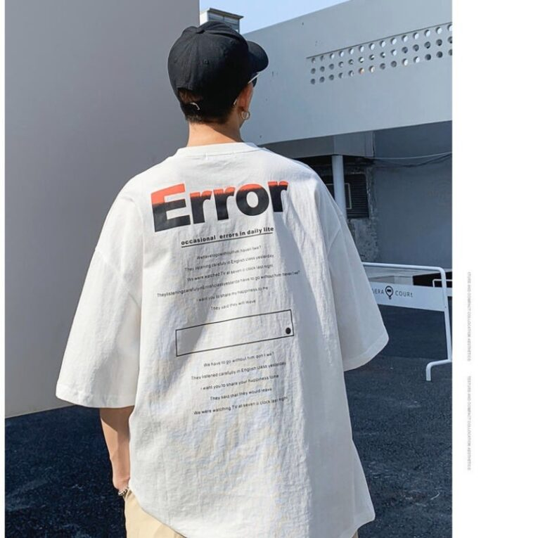 TTL526 - Áo Chữ Error