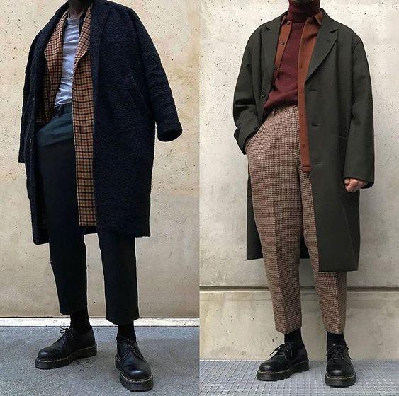 phong cách layer quần áo nam