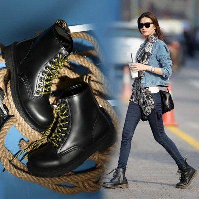 cách phối đồ với giày boot nữ