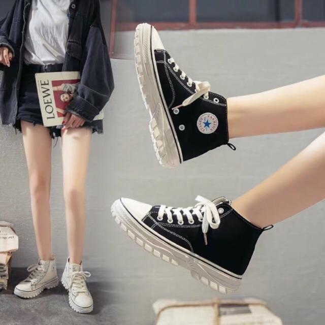 phối đồ với giày Converse nữ đẹp