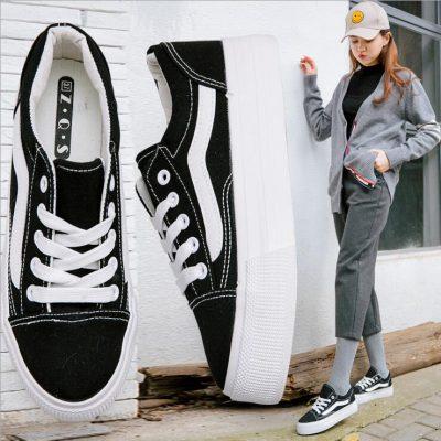 cách phối đồ với giày Vans nữ