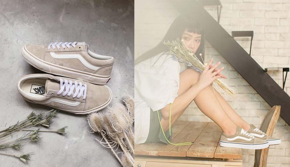 phối đồ với giày Vans
