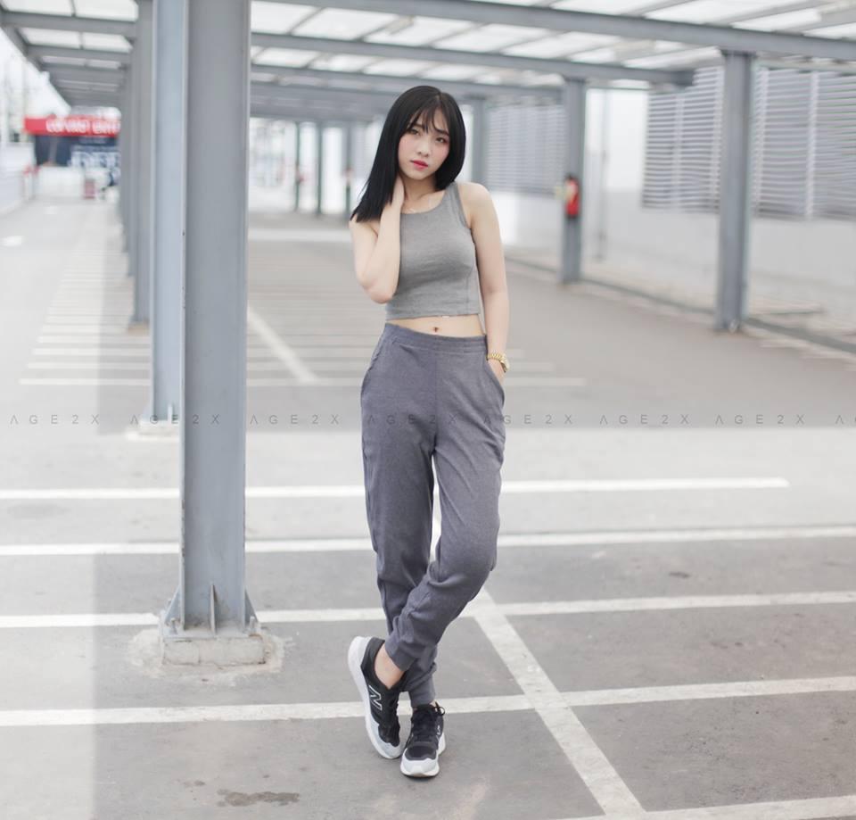 tập gym mặc đồ gì mát
