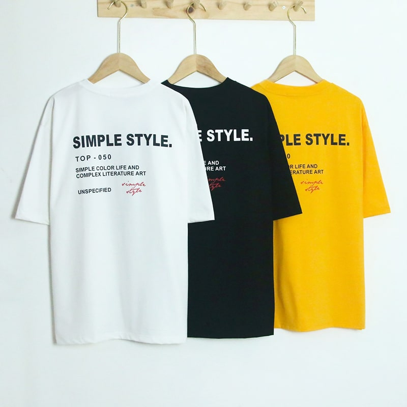TTL830 - Áo Simple Style