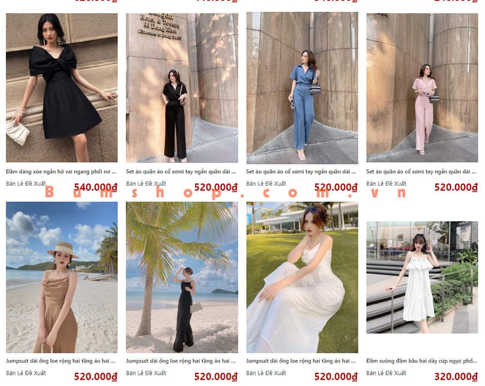 """11 Xưởng Lấy Váy Đầm Giá Sỉ Đẹp RẺ tại TPHCM của dân """"LIVESTREAM"""""""