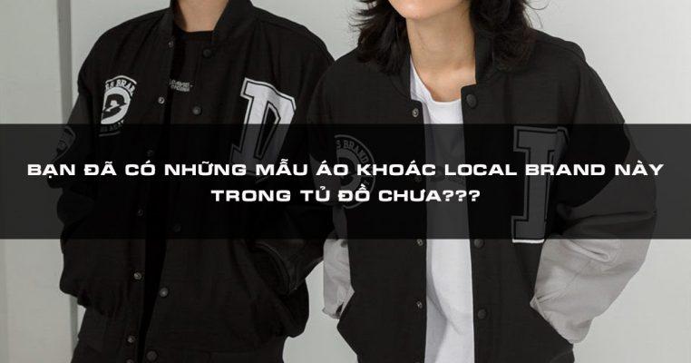 Mẫu áo khoác local brand đẹp