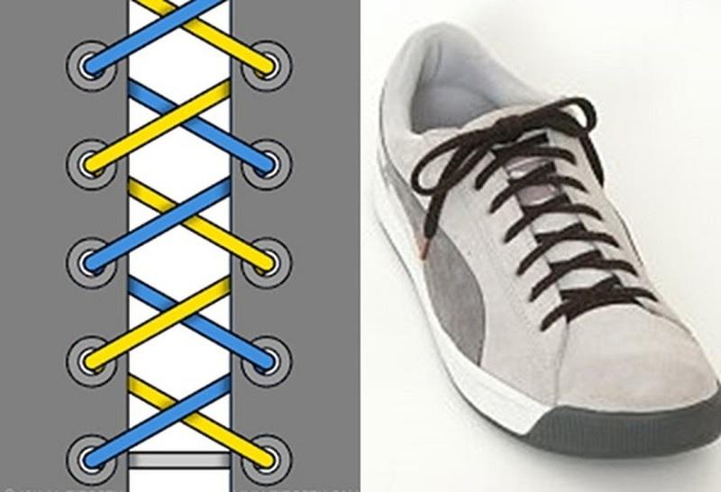 Hướng Dẫn 3 Cách Buộc Dây Giày Thể Thao Đẹp Và Đơn Giản