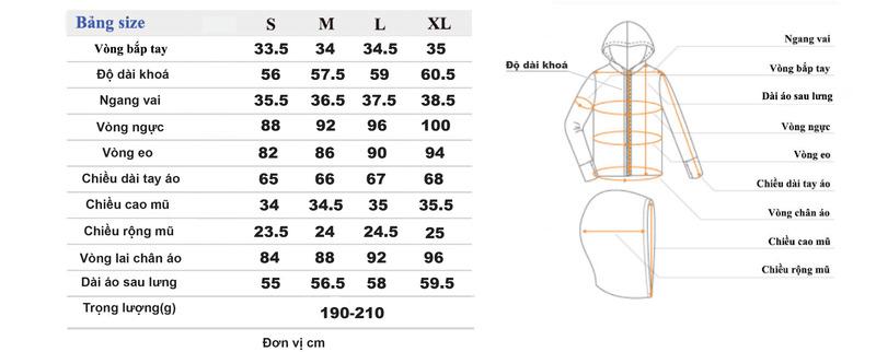 Hướng Dẫn Cách Chọn Size Áo Khoác Nam Nữ Chính Xác Nhất